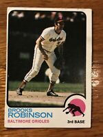 1973 Topps Brooks Robinson Baltimore Orioles #90 Baseball Card