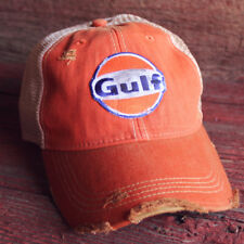 Distressed Gulf Trucker CapVintage Look Trendy NewTrucker Hat
