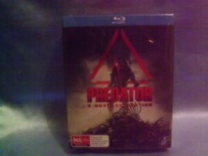Predator - Ultimate Hunter Edition / Predator 2 / Predators BLU-RAY ONLY POST OZ
