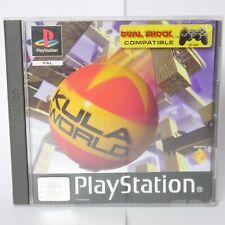 Kula World PS1 Spiel Playstation 1 Game Getestet und Funktioniert in OVP