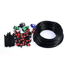 30 Sets DIY Micro Drip Irrigation System Lawn Sprinkler 25M Watering Garden Hose