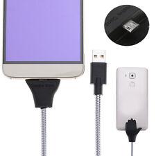 Flexibel Handy Daten-Sync Kabel Micro USB Ladekabel Ständer Für Samsung Sony LG