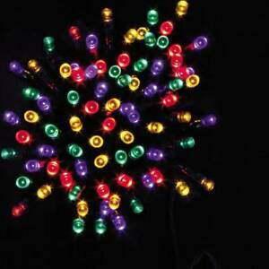 WATERPROOF INDOOR OUTDOOR LED CHRISTMAS TREE STRING LIGHTS WITH TIMER UK SELLER