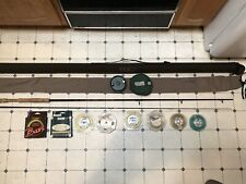 L. L. Bean two-piece saltwater fly rod 9', 12 wt. with Lamson reel and extras!