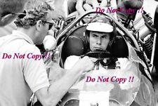 Jim Clark & Colin Chapman Lotus Portrait Indianapolis 500 1965 Photograph 1