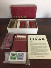 Vintage Lingo Game-Golden 1985-Speaks a Slanguage of It's Own COMPLETE