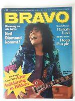 Bravo 24 / 7.6.1972 Komplett! DEEP PURPLE A3 Poster / Daliah Lavi ☆TOP☆ (1668)