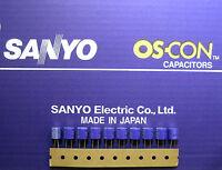10pcs Oscon Sanyo OS-CON 47µF/25V
