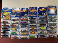 lot of 30 Hot Wheels from Older Collection All new! Great Variety