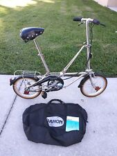 Dahon stainless steel Bicycle Folding Foldable Camping Bike Vintage In RV boat?