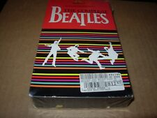 BEATLES The Compleat Beatles Stereo ( VHS, 1988 ) SEALED  NEW MGM