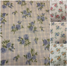 Floral Traditional Flat Sheets