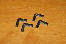 4 Coins angles de soufflet d'accordéon : pièce métal de réparation soufflet