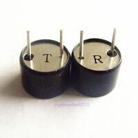 2pc 10mm 200khz Waterproof Ultrasonic Sensor Transducer Receive Transmitte R+T