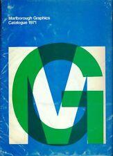 Marlborough Graphic Catalogue 1971. Catalogo con 36 fogli sciolti e pieghevoli