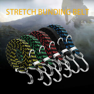 Luggage Tied Rope Stacking Banding Elastic Cord Strap For Motorcycle Bicycle