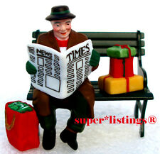 Dept. 56 Rest Ye Merry Gentleman Retired 2002 Christmas in the City 55409 New