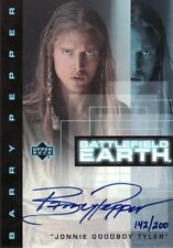 Battlefield Earth Barry Pepper as Tyler BP3 Auto Card Numbered 142/200