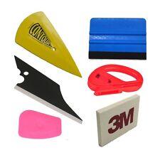 6 PCS Car Film Wrap Application Vinyl Tool Kit Felt Squeegee Cutter Tool / Set