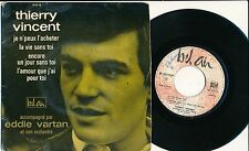 """THIERRY VINCENT 45 TOURS EP 7"""" FRANCE BEATLES YEYE FREAKBEAT MOD *"""