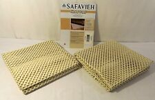 Safavieh Grid Non Slip Rug Pad, 3 ft x 5 ft for All Hard Floors, Set of 2