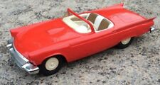 Rare Vintage 1/25 1957 FORD THUNDERBIRD AMT Johan Dealer Promo Toy Friction Car