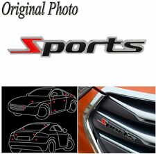 2pcs Sports Badge - Emblem Car Van Truck Metal Logo 3D - Adhesive Universal