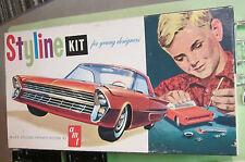 AMT Styline 1962 Ford Thunderbird Kit # S221 Advanced Custom Builder in Box 62