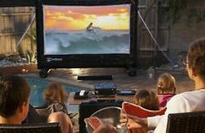 "2.5m / 100"" Premium PVC Outdoor Home Movie Cinema Inflatable screen - Sealed"