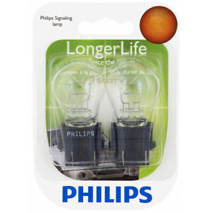 Philips 3157LLB2 Long Life Tail Light Bulb for 30144 73245 BP3157LL rq