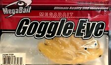 Pace Products Lemon Color Bubble Grub MegaBait Goggle Eye