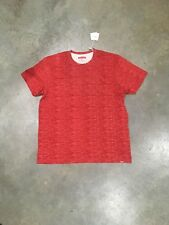 Staple Pigeon Hidden Print Pocket Red Graphic T In Sz. Large 100% Authentic Nwt