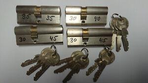 4 Stück gleichschließende Schließzylinder Zeiss Ikon Assa Abloy mit 11 Schlüssel
