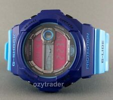 New Casio G-Shock GLX-150-2 G-LIDE Blue Pink Tide & Moon Graph Super LED Watch