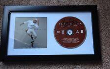 Aloe Blacc Signed Lift Your Spirit Framed Cd Album Proof The Man, Wake Me Up