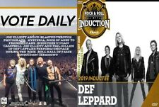 Def Leppard 2019 Rock & Roll Hall of Fame DVD