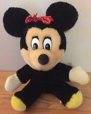 """Vintage Disney MINNIE MOUSE 8"""" stuffed plush animal"""