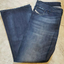 Diesel Industry Zaf Boot 36 X 32 Men's Jeans Distress Buton Fly Made In Italy