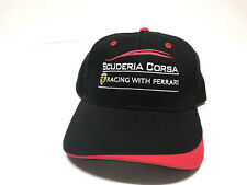 Scuderia Corsa Racing with Ferrari Cap Adjustable Strapback Hat