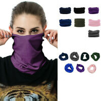Outdoor Magic Head Face Snood Neck Tube Neckerchief Sport Wrap Shawl Buff Scarf