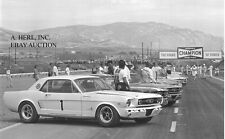 Hillyers Ford Mustang drag racing 1966 Mustang Coupe - photo photograph