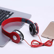 DJ Foldable Headband Receiver Headphone Headset Earphone for Android iPhone iPod