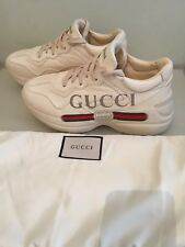 Gucci Rhyton Leather trainer Sneakers  UK 6 EU39 -worn twice-Italy