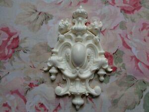 New! Beautiful! French Rococo Acanthus Center Furniture Applique Pediment
