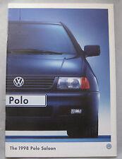 1998 VW Polo saloon Brochure