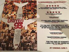 United 93 Original Uk Quad Poster