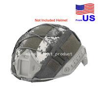 Tactical Airsoft Helmet Cover Nylon Cloth for BJ/PJ/MH Fast Helmets ACU USA