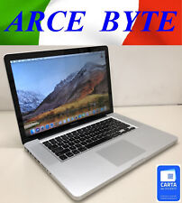 "APPLE MACBOOK PRO 15"" INTEL CORE i5 FATTURABILE A1286 SUPER AFFARE GRADO B"