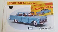 Dinky Toys Atlas - Fascicule SEUL de l'Opel Kapitän (Booklet only)