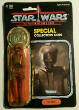 EV-9D9 Vintage Star Wars Figure KENNER rotj coin power of the force last 17 jedi